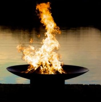 Fire is an important symbol in Zoroastrianism